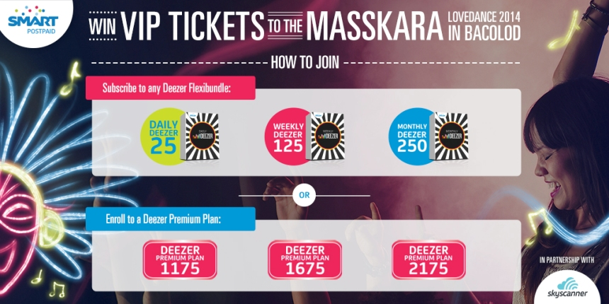 DEEZER MASSKARA Daily How to Join TW